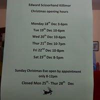 Edward Scissorhand Barbers