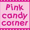 Pink candy corner