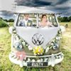 Rusty and Roses Classic VW campervan wedding and events hire