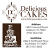 Delicious Cakes - Wedding Cakes, Birthday Cakes and more