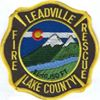 Leadville/Lake County Fire Rescue