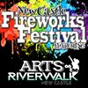 New Castle Fireworks Festival featuring Arts on the Riverwalk