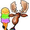 Moose Scoops Ice Cream