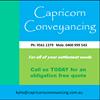 Capricorn Conveyancing