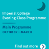 Imperial College Evening Class Programme