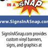 SignsInASnap.com