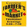 Corning's Thursday Night Farmers Market