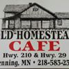 Old Homestead Cafe