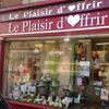 LE PLAISIR D'OFFRIR