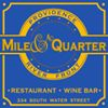 Mile and A Quarter