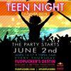 Fudpucker's Teen Night