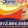 Done Right Moving & Storage