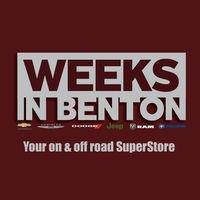 Weeks in Benton