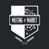 Meeting at Market