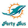 Miami Dolphins Game Day Party Bus