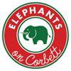 Elephants on Corbett