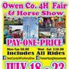 Owen County 4-H Fair & Horse Show