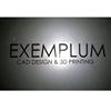 Exemplum /CAD design & 3D printing/