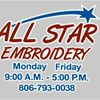 All Star Embroidery