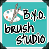 B.Y.O.B Bring your own brush studio!