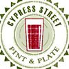 Cypress Street Pint and Plate