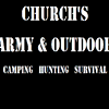 Churchs Army and Outdoor
