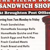 Broughton Post Office & Pillar Box Sandwich Shop