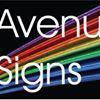 Avenue signs
