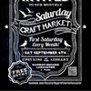 The Saturday Craft Market