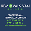 Removals van London