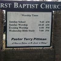 Paden First Baptist Church