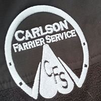 Carlson Farrier Services - Horse Shoeing