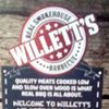 Willett's Real smokehouse BBQ