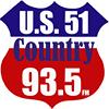 U.S. 51 Country 93.5 FM