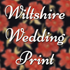 Wiltshire Wedding Print