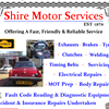 Shire Motor Services