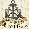 Axe and Anchor Tattoos