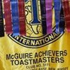 JB MDL's McGuire Achievers Toastmasters Club 3111