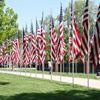 Geneseo Aisle of Flags