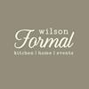Wilson Formal