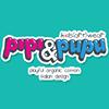 PIPI & PUPU kids art wear.  Playful Organic Cotton Italian Design