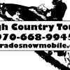 High Country Tours: Snowmobile Tours in Summit County, CO