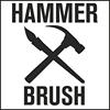 Hammer and Brush