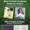 Oswestry School Mini Football Academy