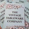 The Vintage Tableware Company