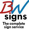 B W Signs