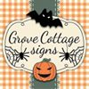 Grove cottage signs