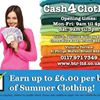 Cash for Clothes at Bristol Textile Recyclers Ltd