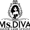 Ms.DIVA, Professional Semi-Permanent Individual Eyelash Extensions, Cork
