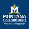 Montana State University Office of the Registrar